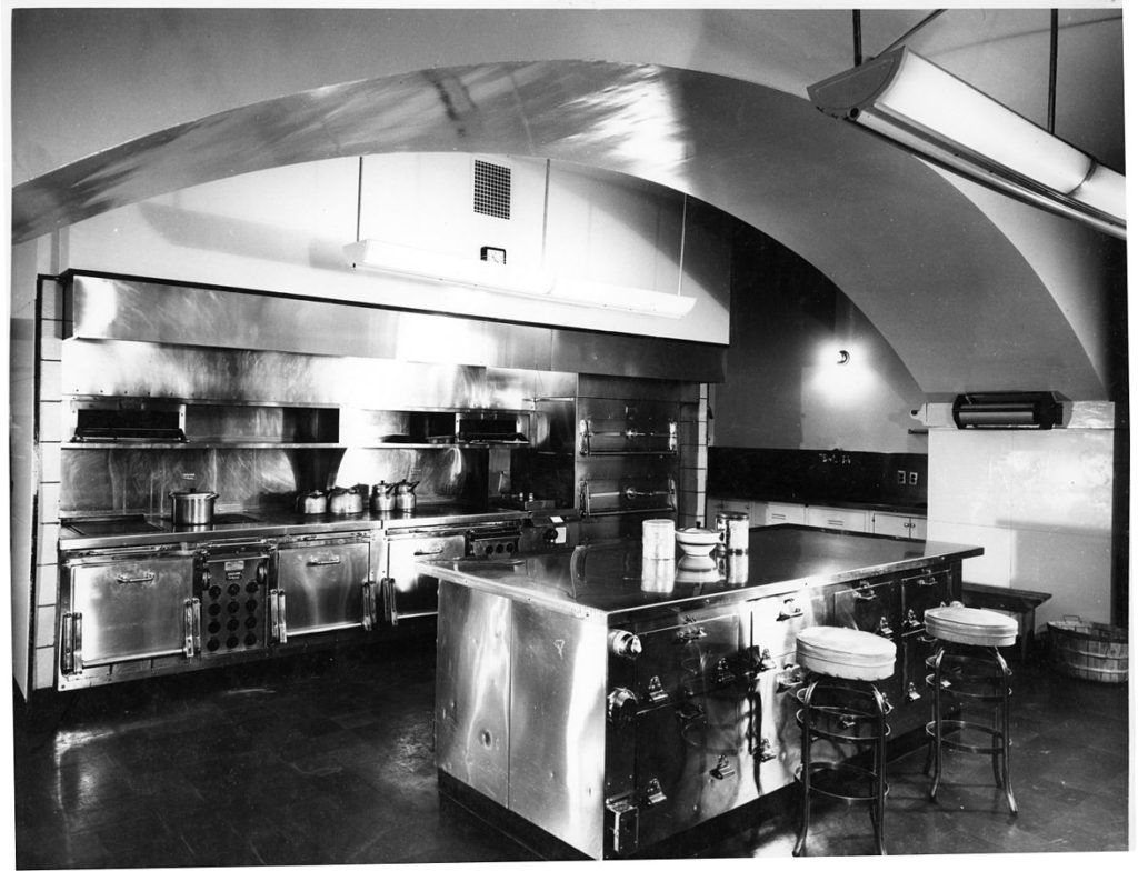White House Kitchen 1948