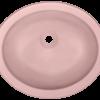 PUGMCO Undermount Glass Bathroom Sink