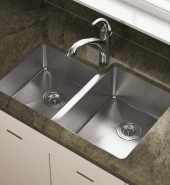 14 gauge undermount sink with 2 basins