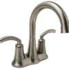 2407-BN Brushed Nickel Two Handle Lavatory Faucet