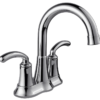 2407-C Chrome Two Handle Lavatory Faucet