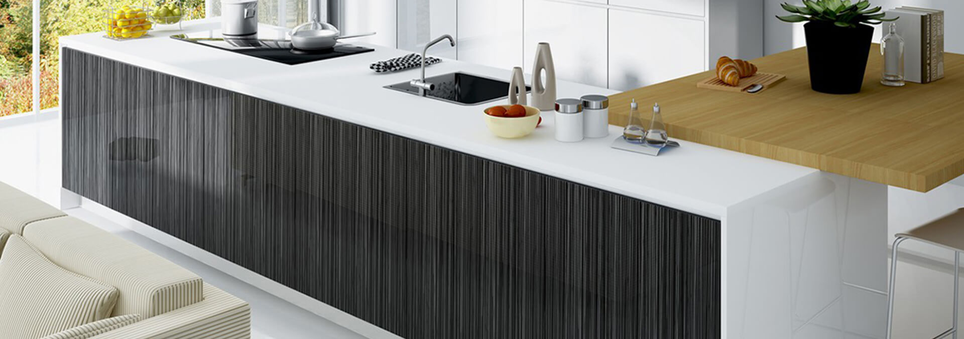 Why Choose High Gloss Kitchen Cabinets?